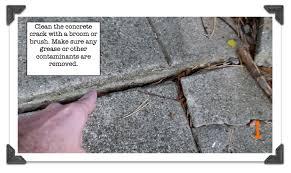 Repair Concrete Patio Cracks Repairing Cracks In Concrete 7 Minutes Is All You Need