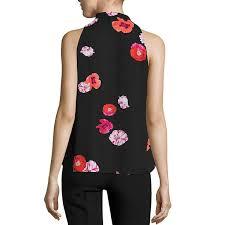 sleeveless tie neck blouse worthington sleeveless tie neck blouse jcpenney