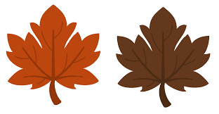 printable fall leaves clip 64