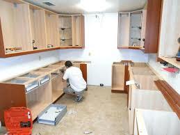 diy installing kitchen cabinets installing kitchen cabinets installing kitchen cabinets over
