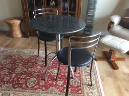 Granite Top Bistro Table Interesting Granite Bistro Table With Granite Top Bistro Table