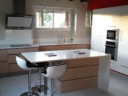 agencement de cuisine amenagement cuisine ilot central meuble cuisine ilot central
