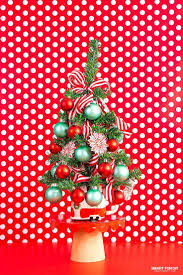 25 unique tabletop christmas tree ideas on pinterest small