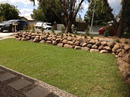 Bush Rock Garden Edging Bush Rocks Brisbane Warwick Helidon Call 0400 992 560