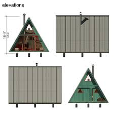 small a frame cabin plans tiny a frame house plans tiny house
