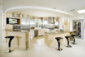 brass kitchen lights refrigerator in kitchen impressive home design