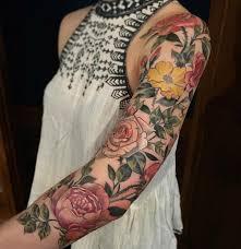 pretty flowers sleeve best design ideas