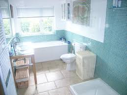 bathroom fetching blue and white small space bathroom decoration