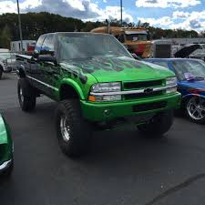 1995 chevy s10 custom mix of house of kolor green flames lifted 5