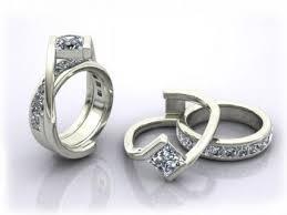 interlocking engagement ring wedding band best 25 interlocking wedding rings ideas on intricate