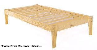 twin bed frames for kids all home design solutions diy wood frame
