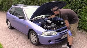 colt mitsubishi old mucky mitsubishi engine bay clean write up car cleaning guru