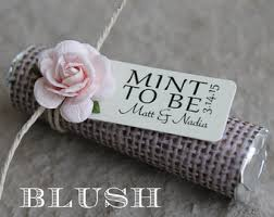 Shabby Chic Wedding Gifts by Mint Wedding Favors Set Of 50 Mint Rolls Mint To