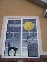 halloween monster window silhouettes 10 spooky window decorations to get your home ready for halloween