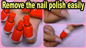 how to remove nail polish glitter nail art gel off remover clips