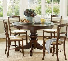Pottery Barn Dining Room Table Fine Design Pottery Barn Round Dining Table Awesome Inspiration