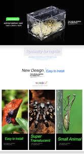 nomoy pet 2016 new design reptile terrarium reptile breeding cage