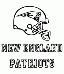 patriots coloring pages new england patriots logo coloring page