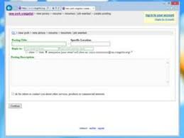 Posting Resume On Craigslist How To Post Your Resume On Craigslist Techwalla Com
