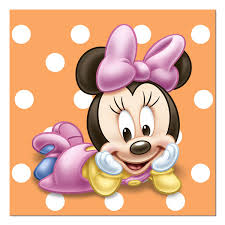 minnie mouse 1st birthday beverage napkins 16 cakepins baby