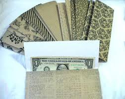 envelope system set assorted colors system budget