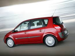 renault red renault scenic automobilių techniniai duomenys