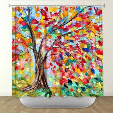 funky bathroom ideas buy shower curtain artistic designer from dianoche designs by