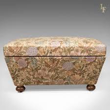 Antique Ottoman Antique Ottoman Upholstered Chest C 1870