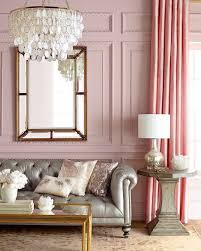 Pink Living Room Furniture Think Pink It U0027s All Grown Up This Peaceful Home