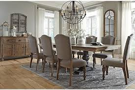 Ashley Furniture Farmhouse Table by Dining Room Chairs Houston With Fine Kitchen Tables Houston Tx