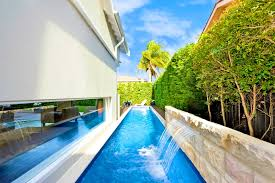 cost of a lap pool furniture in ground lap pool awesome above ground lap pool small