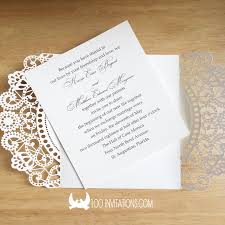 Inexpensive Wedding Invitations Beautiful Laser Cut Wedding Invitations For Limit Budget Wedding