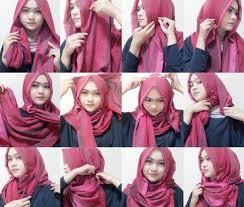 tutorial hijab pashmina kaos yang simple aneka koleksi tutorial hijab pashmina kaos simple jpg