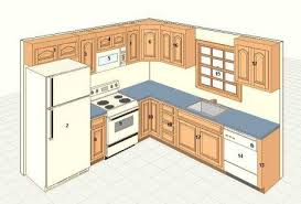 Kitchen Cabinet Layout by 10 X 10 Kitchen Plan For The Home Pinterest Kitchens