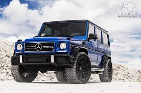 blue mercedes ag luxury wheels mercedes benz g63 amg forged wheels