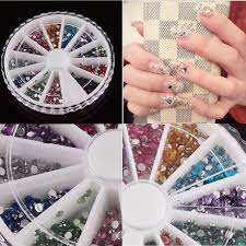 wholesale nail rhinestones rolls dotting pen manicure beauty kit