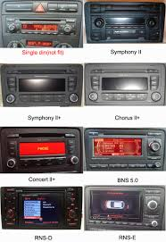 audi a3 s3 rs3 aftermarket gps navigation car stereo 2003 2013