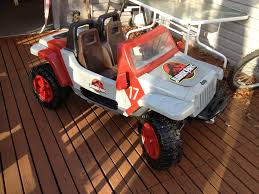 power wheels jeep jurassic park jeep hurricane modifiedpowerwheels com