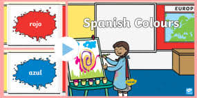 spanish colours wordsearch worksheets colour spain search