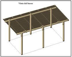 struttura in legno per tettoia una tettoia garage costruita in legno