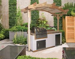 Concrete Pergola Designs by Small Outdoor Kitchen Gazebo Pergola Ideas Built In Bbq Grill