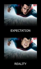 Funny Superman Memes - funny picture superman expectations reality jpg