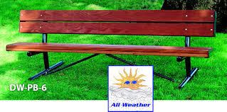 Park Bench And Table Tables Benches L A Steelcraft