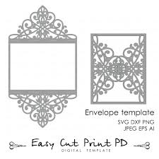 wedding invitation pattern card 5x7