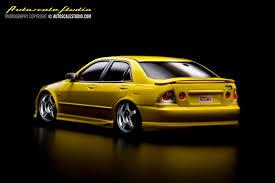 lexus altezza car mzc9y toyota altezza 280t tom u0027s lexus is200 yellow autoscale