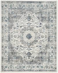 White And Black Area Rug Amazon Com Safavieh Evoke Collection Evk220d Vintage Oriental