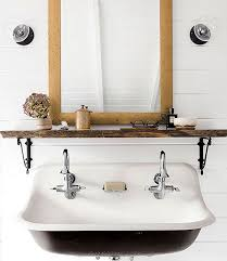 Trough Sink For Bathroom by Trough Sinks Colored Powder Coating The Inspired Room