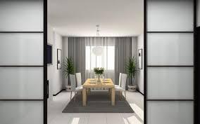 minimalist and contemporary japanese dining room idea japanese