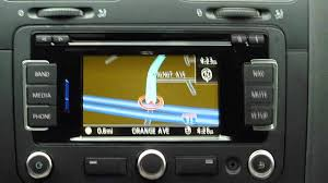 volkswagen rns315 gps system demo review and tips in a vw jetta