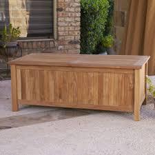 Outdoor Storage Bench Waterproof Interior Cushion Storage Box Outside Storage Bins Outdoor Storage